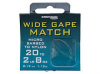Wide Gape Match Spade Ends To Nylon (Micro Barbed)