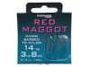 Red Maggot Spade Ends To Nylon (MicroBarbed)